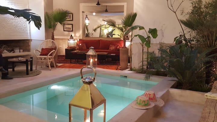 Riad Bab Ouch'  privé avec piscine chauffée