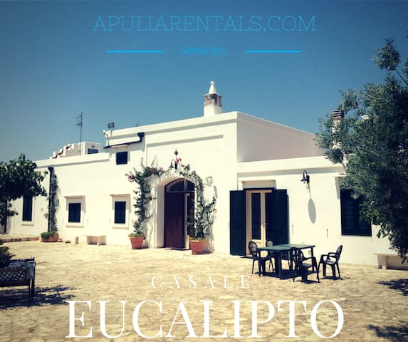 Eucalipto Farmhouse Near the Sea! - Sant'Antonio D'ascula - Villa