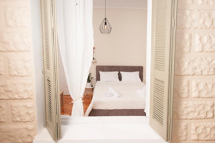 Olea apartment 1, παραλία Καλαμάτας