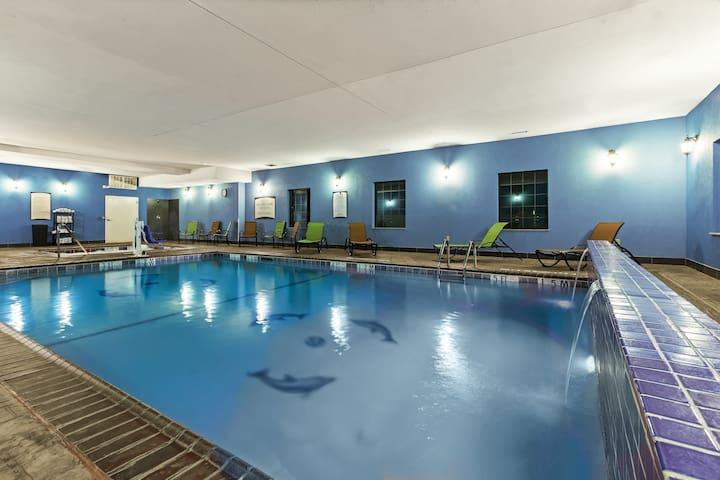 Free Breakfast, Indoor Pool | Near Baptist St. Anthony's Hospital