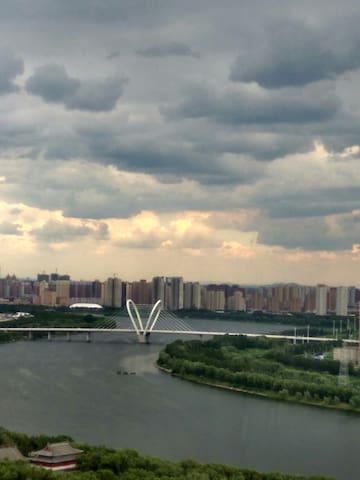 近东北大学南湖公园 浑河岸沈水湾龙王庙  高层景观房 - Shenyang
