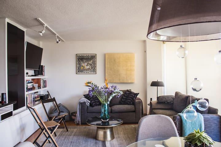 Encantadora habitación en Amsterdam.