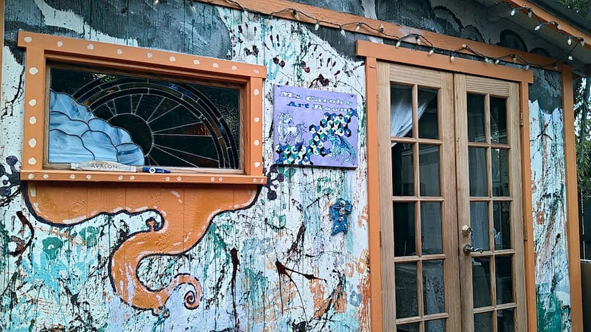 Quaint Art Studio - Chico - House