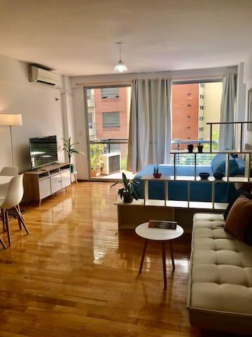 Modern Bright Cozy Studio Apartment- Palermo-
