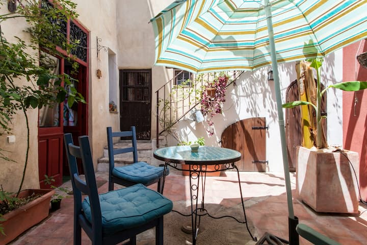 Room of Charming House in Jerez