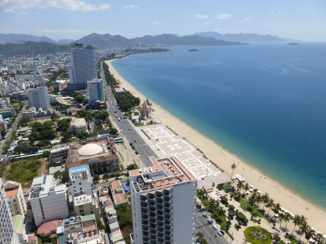 Amazing Sea View, 2-Bedroom Apartment, Central - tp. Nha Trang - Lägenhet