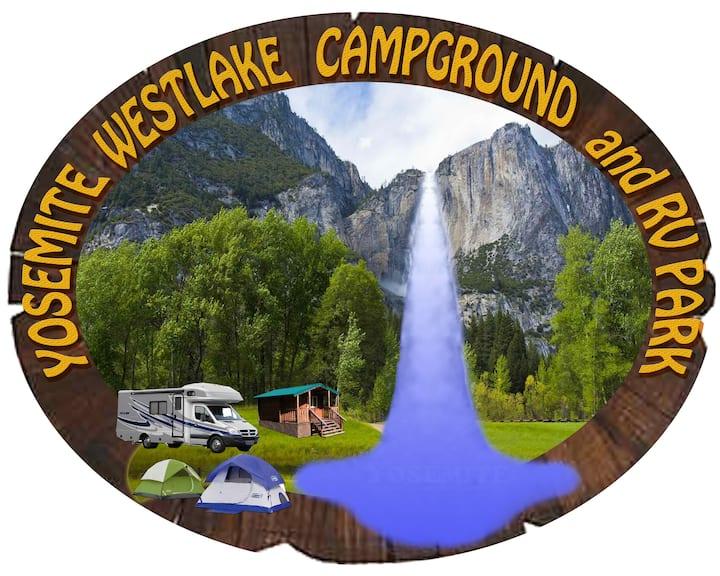 Yosemite Westlake Tent Campsite #9