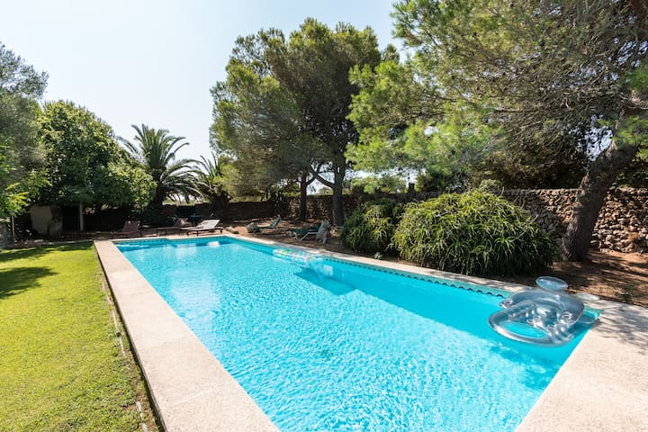 Finca Eleonora - quiet, privat, views and big pool - Mahón, Islas Baleares - House