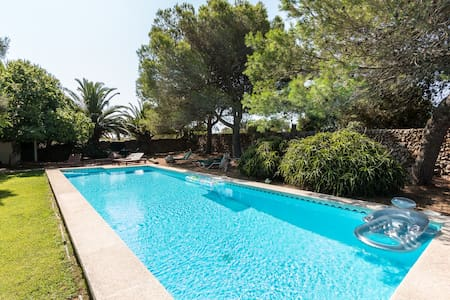 Finca Eleonora - quiet, privat, views and big pool - Mahón, Islas Baleares - Casa