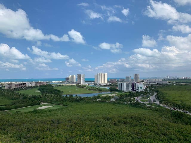 Departamento con vista al Mar Caribe