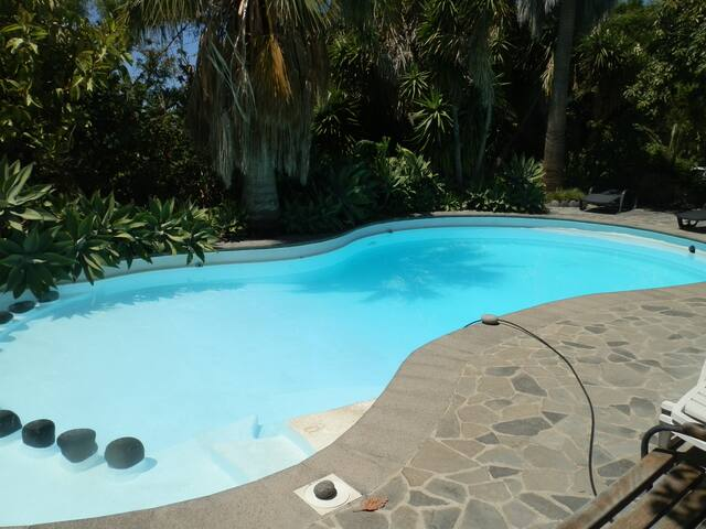 Casa Cruz Chica,Pool,botanischer Garten,Internet