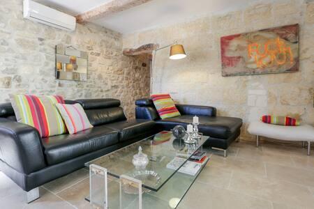 Chambre de charme proche d'Avignon et Pont du Gard - Saze