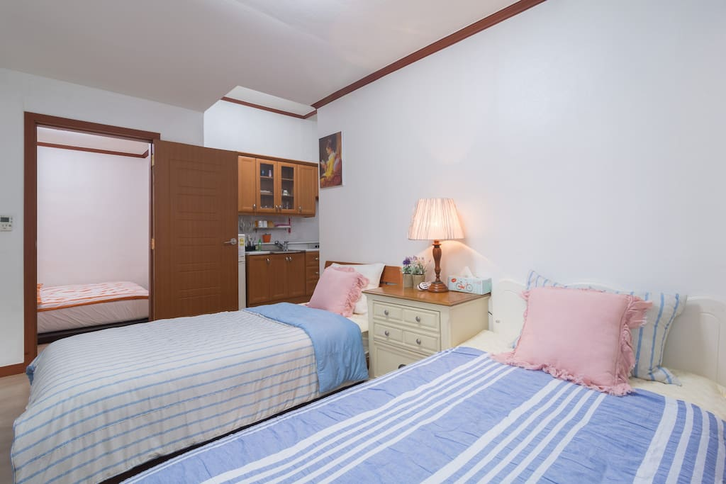 Comfortable two single bed