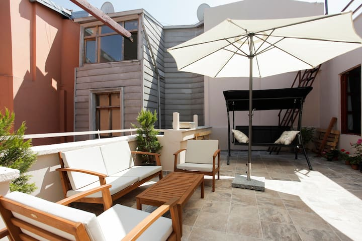 Terrace garden at coolest location! - taksim - Loft