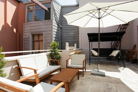 Terrace garden at coolest location! - taksim - Loft