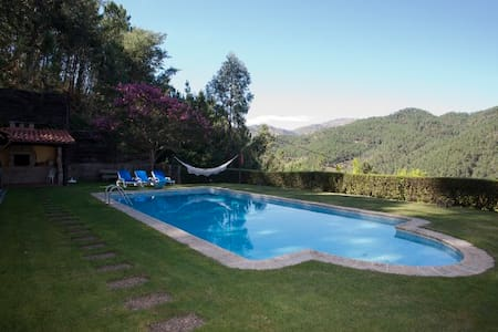 Casa do Cruzeiro - Piscina e Vista Rio - Gerês - Дом