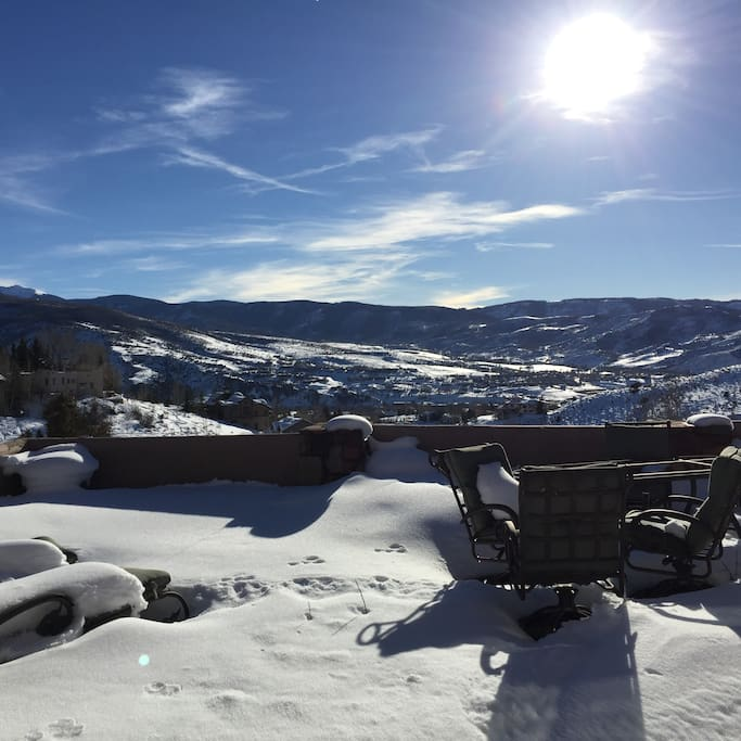 Views across Vail Valley are stunning in every season.