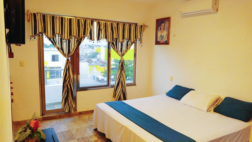Spacious apartment with pool a 10 min By the beach - Playa del Carmen - Apartemen