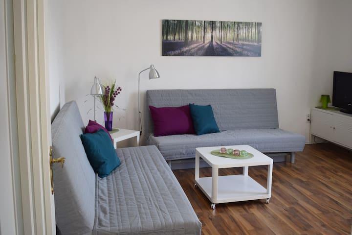 Helles modernes Appartement in zentraler Lage