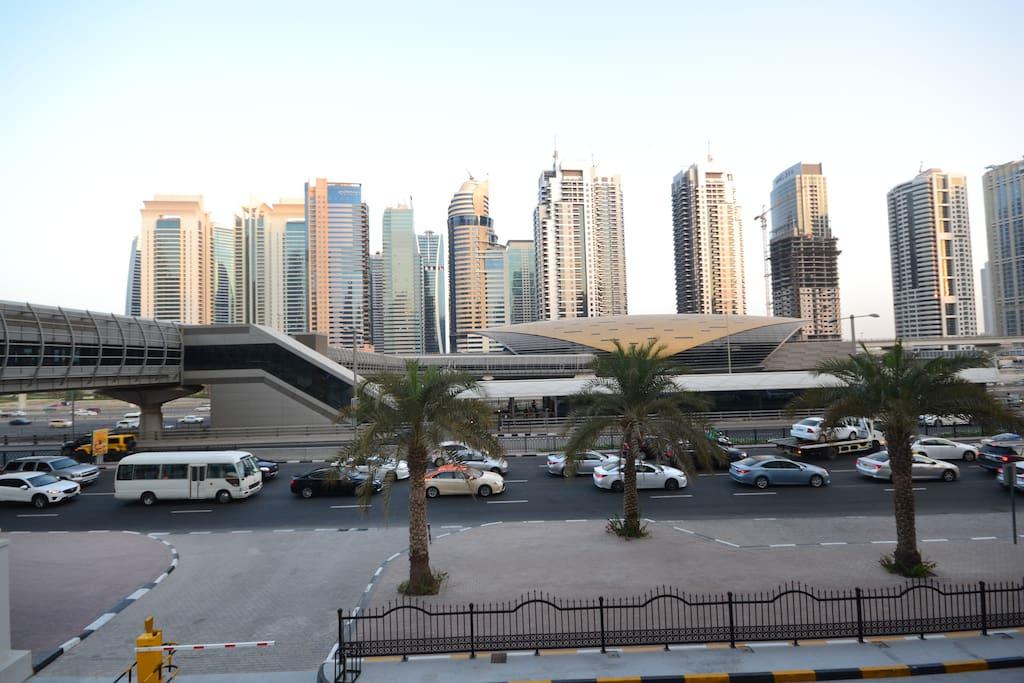 Explore Dubai with direct accessibilty to Dubai Metro & Tram line