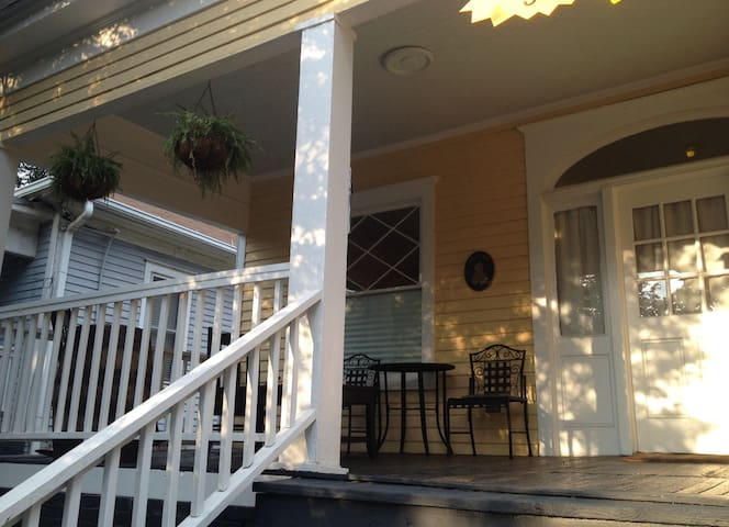 """There is a large porch that's perfect for watching the world go by."" - Holly *****"
