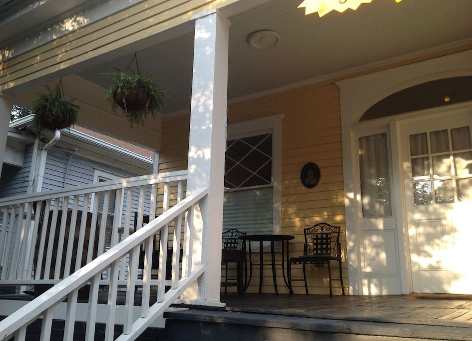 """""""There is a large porch that's perfect for watching the world go by."""" - Holly *****"""