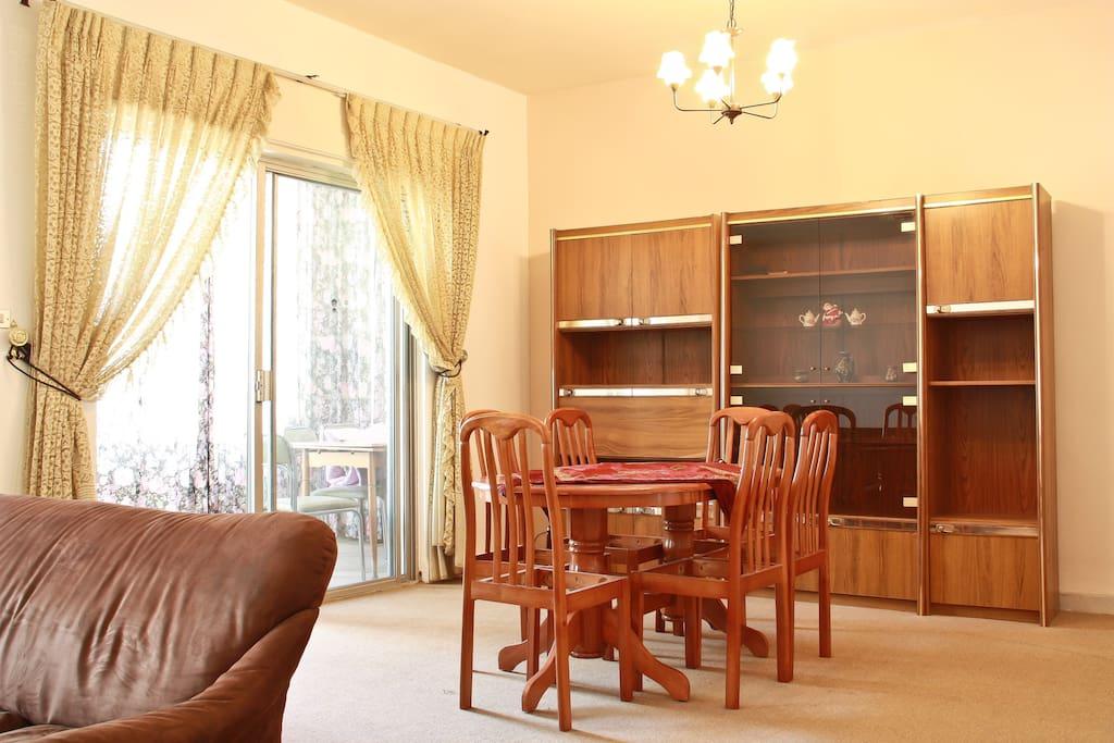 Sunny Apartment in Amman Best Area