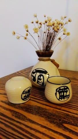 公众号乌镇南国清秋,茶之汤日式榻榻米,汽车站附近,交通便利 - Tongxiang - Other