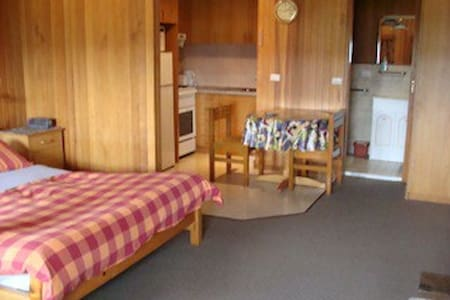 Central Studio Apt with Fireplace - Jindabyne