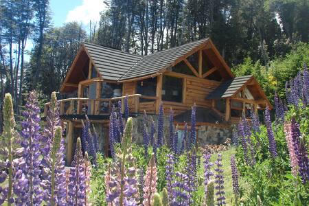 El Descanso B&B-cuarto Azul de la montaña