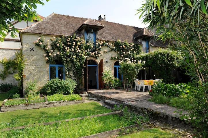 Maison de charme en Champagne - Virey-sous-Bar - บ้าน