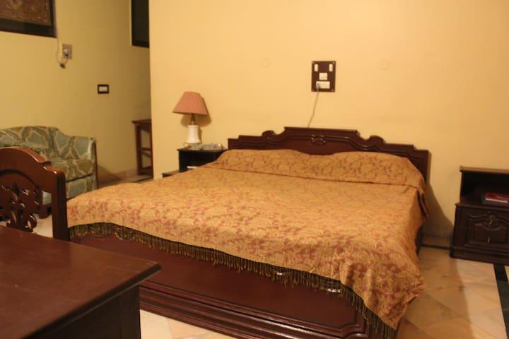 A large double bedded room in an urban homestay - Jodhpur - Villa
