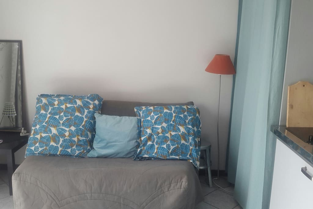 Le lit du studio