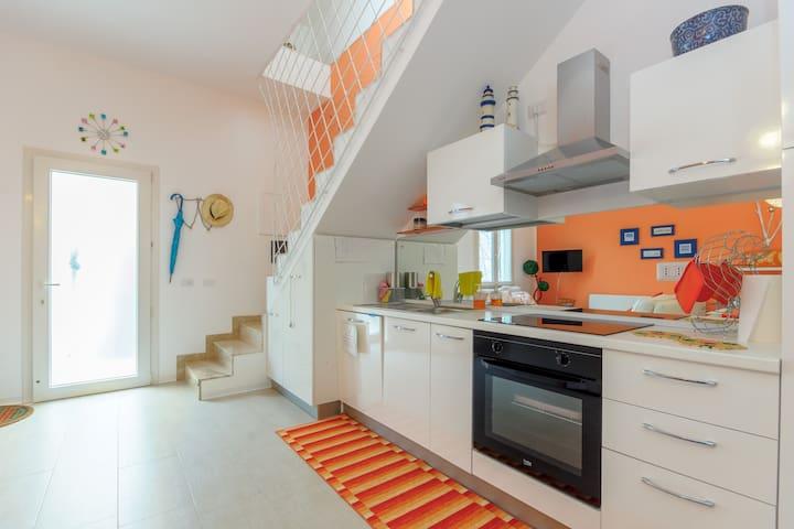 Elegante casa con terrazza IL GABBIANO in centro - Mazara del Vallo - Apartment