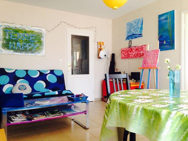 Bienvenue chez Terre Happy - Daix - Apartment