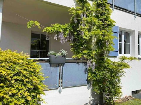 Schöne, helle 3 1/2 Zimmer Wohnung mit Terrasse