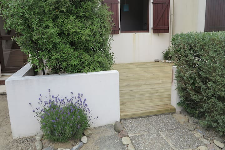 2 pièces avec jardin en bord de mer - Bretignolles-sur-Mer - Wohnung