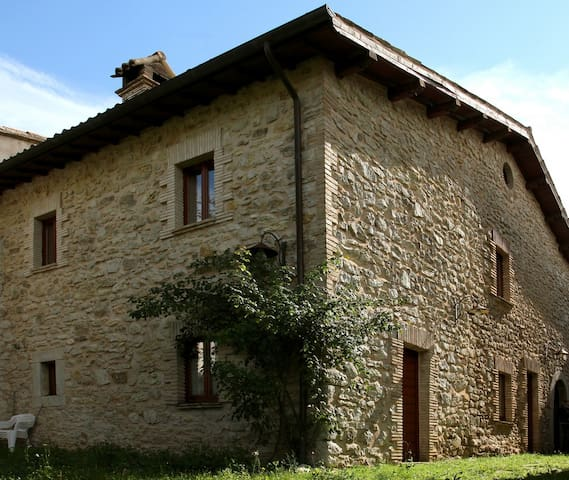 Casa rurale nei verdi pascoli - Sellano - Appartement