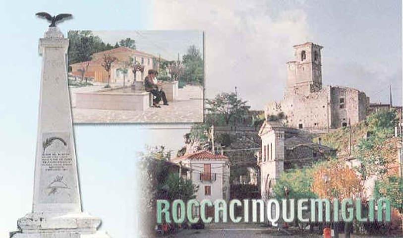 Roccacinquemiglia (l'Aquila) - Roccacinquemiglia - Departamento