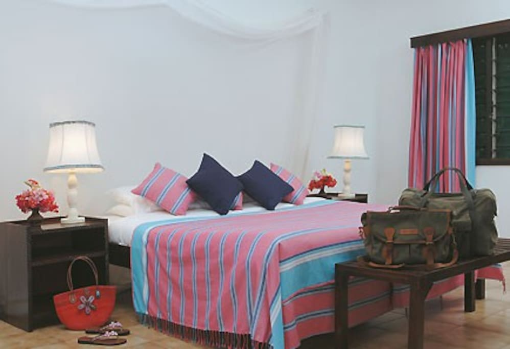 Air conditioned bedroom's to ensure a good nights sleep