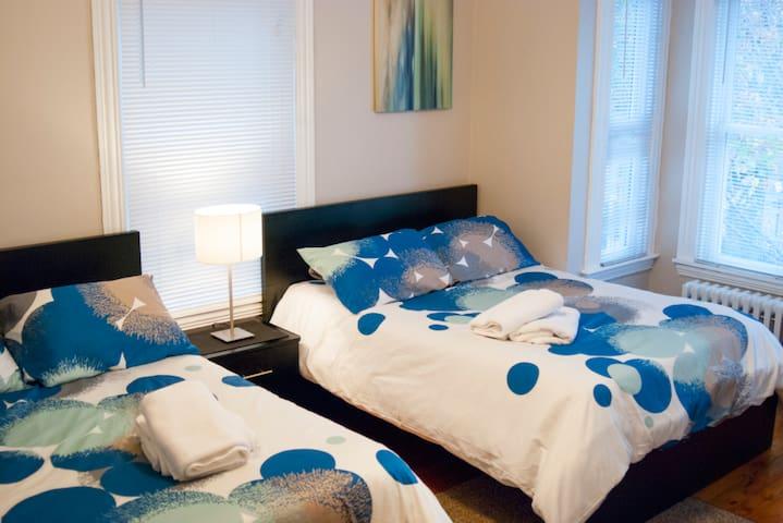 Big Room Comfortable Bed