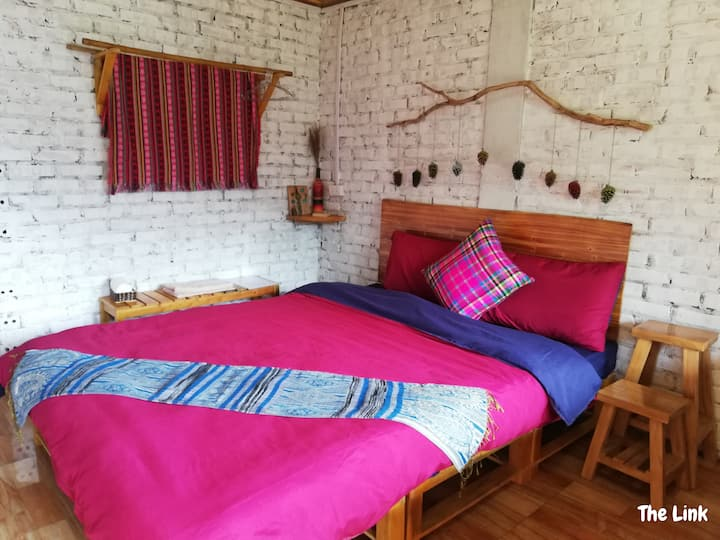 Homestay Sapa with mountain  & terraced field view