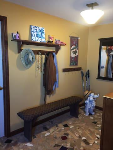 ELLICOTVILLE. Bedroom and bath in ski chalet