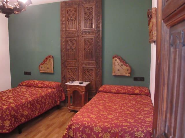 Habitación doble en casa rural - Santa Cruz de la Zarza