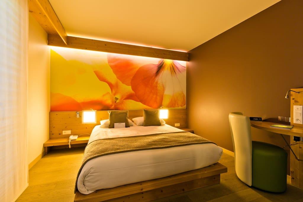 chambre au calme aux carroz avec vue panoramique chambres d 39 h tes louer ar ches la frasse. Black Bedroom Furniture Sets. Home Design Ideas