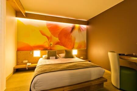 Chambre au calme aux Carroz avec vue panoramique - Arâches-la-Frasse - Bed & Breakfast