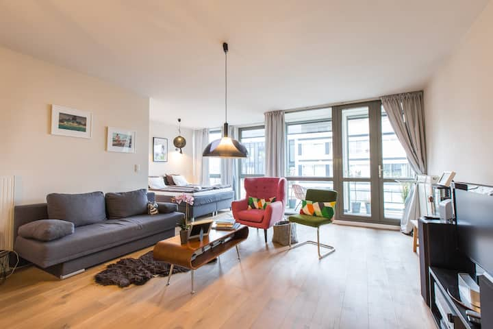 new very bright studio in the centre of Antwerp
