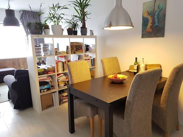 Cozy studio 20' to Amsterdam centre panoramic view