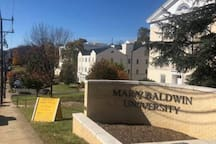 Beautiful Mary Baldwin University is also only just a few blocks away.