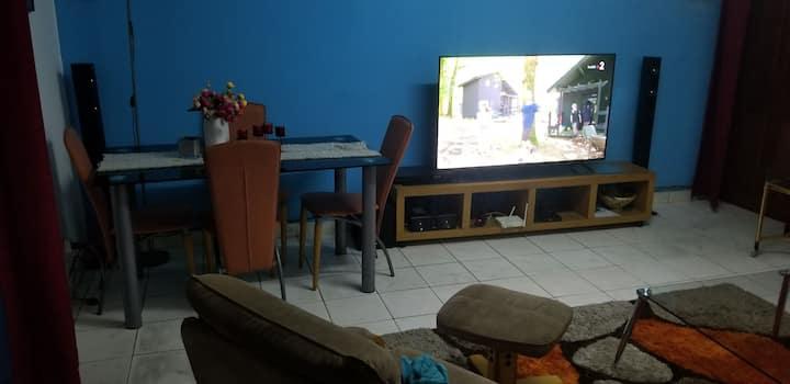 appartement meublé  en ville .akwa douala .